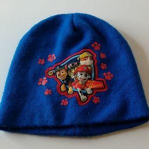 Blue Paw Patrol kids beanie hat